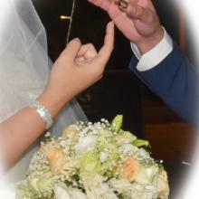 טבעת נישואין בחתונה